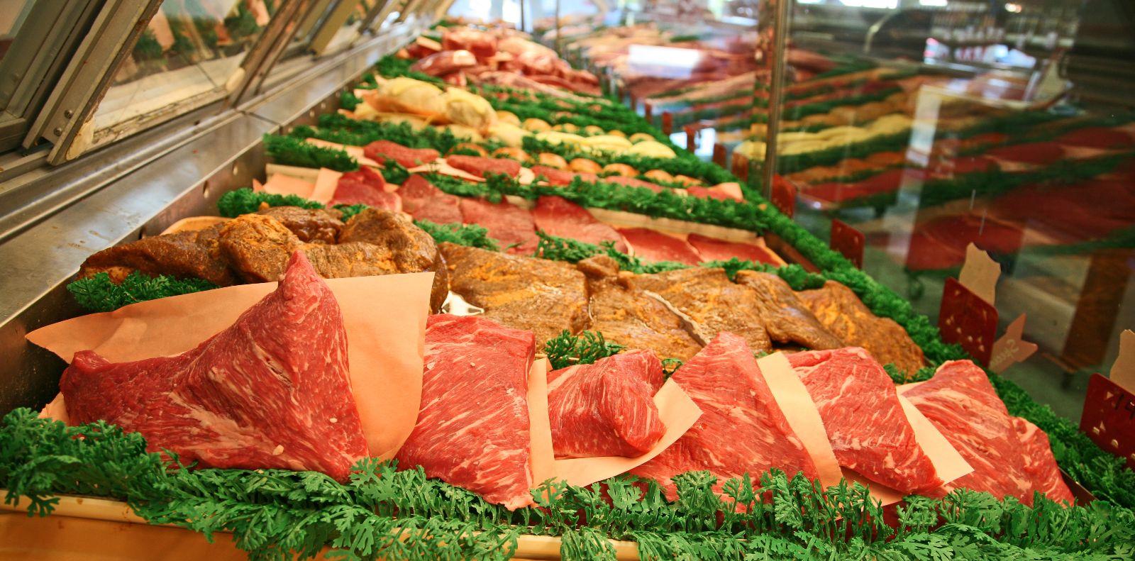 Meat Case Inside Tri Tip